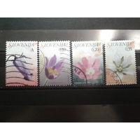 Словения 2007 Цветы, стандарт