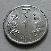 1 рупия, Индия 2013 г., звезда