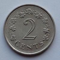 Мальта 2 цента. 1976