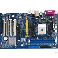 AMD 754  Asrock K8Upgrade-NF3 AGP, DDR1 2шт,  IDE- 2шт, SATA-2шт (200698)
