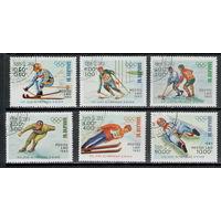 Лаос /1983/ Спорт / Зимние Виды Спорта / Олимпийские Игры  / / Серия 6 Марок