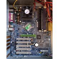 Материнская плата Gigabyte GA-7N400E Socket A (462) + Athlon XP 2600+ (AXDA2600DKV4D)
