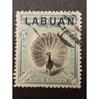 Лабуан. 1900-1902г.