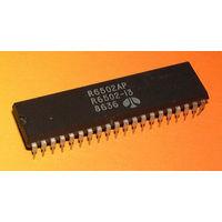 R6502-AP (2MHz, аналоги: 6502, R6502, R65C02, R6502A, UM6502A) - ретро-процессор