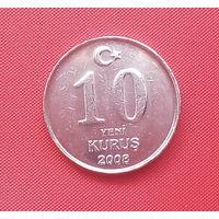 61-08 Турция, 10 куруш 2008 г.