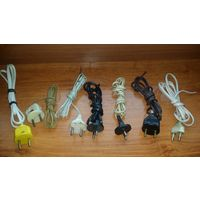 Сетевой кабеля, шнуры 220 В . Распродажа .