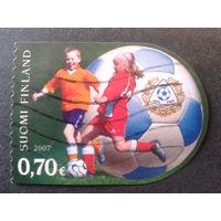 Финляндия 2007 футбол