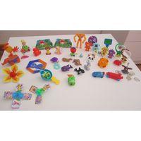 Игрушки из Киндеров разные