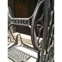 Станина ножки подставка столик от швейной машинки SINGER Зингер антик