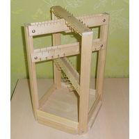 Настольный деревянный органайзер для ювелирных изделий
