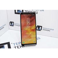 """Золотистый 5.6"""" Samsung Galaxy A8 Dual SIM (х8, 4Gb ОЗУ, 1080х2220). Гарантия"""