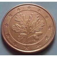 5 евроцентов, Германия 2005 J, AU
