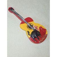 Магнит Испания гитара бык коррида матадор тореадор на холодильник магнитик