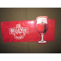 Рекламная вывеска пива Belle-Vue Kriek