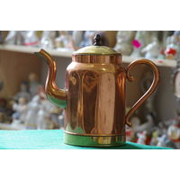 Чайник медно - латунный  1,2 литра    ( 21 см )
