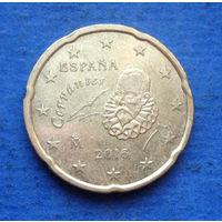 Испания 20 евроцентов 2016