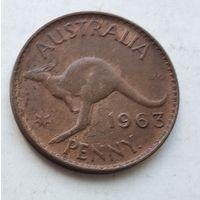 Австралия 1 пенни, 1963 3-13-24