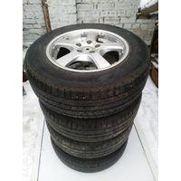 Диски BMW X 5, R17, шины Pirelli Scorpion, зима, 2003 г.в.