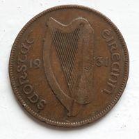 Ирландия 1 пенни, 1931 4-3-3