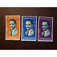 Иорданское Хашимитское Королевство 1966 г.Король Хусейн.