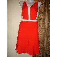 Платье красное 46-48 марк 42