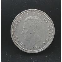 1 песета 1986 Испания #01