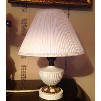 Лампа-ночник Англия фарфор бронза