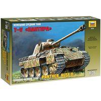 ЗВЕЗДА 3678 - Немецкий средний танк ПАНТЕРА / Сборная модель 1:35