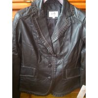 "Куртка кожаная американского бренда ""SCULLY"",размер L(46-48)"