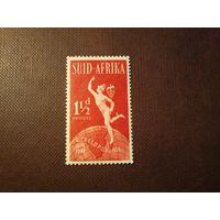 Южная Африка 1949 г.Король Георг VI . 75 лет Всемирному почтовому союзу U.P.U./1к/