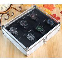 Коробка для хранения наручных часов, 12 ячеек
