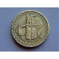 Великобритания 1 фунт 2005