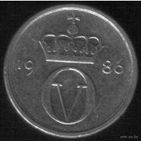 10 эре 1986 год Норвегия