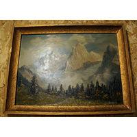 Гаутч. Альпийский пейзаж