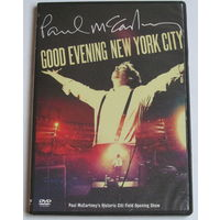 Paul McCartney - Good Evening New York City (2009, DVD-9)