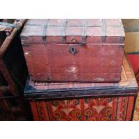 Сундуки начала 18,19 века с крайнего севера. собирал коллекцию княгини Тенишевой