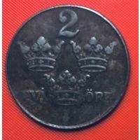 28-19 Швеция, 2 эре 1950 г.