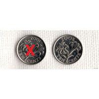 Бермудские острова(Бермуды) 10 центов /2008//флора