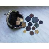 Кошелек с монетами (есть нечастые)