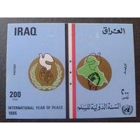 Ирак 1986 год дружбы блок Mi-3,2 евро