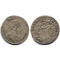 6 грошей (шостак) 1679 TLB, Ян III Собесский. Ав: портрет в античной тоге