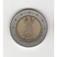 2 евро Германия 2016 А Лот 2853