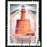 Маяки Балтийского моря СССР 1983 год 1 марка