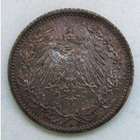 1/2 марки. 1915 г. А