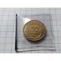 Франция 50 сантимов, 1932