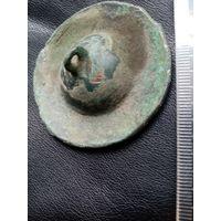 Старинная крышка от кадидла