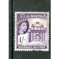 Мальта. Ми-247.Ворота Мдина. Королева Елизавета II. 1956.