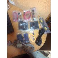 Компьютерные шлейфы и кабеля (новые)