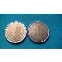Нидерланды 2 евро 2000г.   распродажа