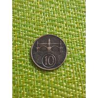 Чехословакия 10 геллеров 1937 г